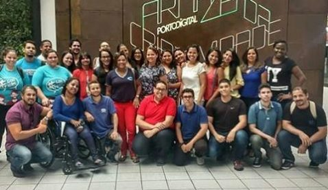 Alunos visitam Armazém da Criatividade de Caruaru