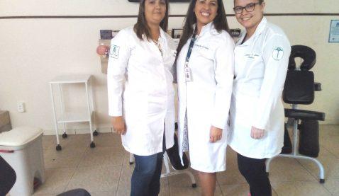Alunas de Estética e Cosmética promovem bem-estar em hospital