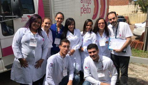 Alunos de Saúde promovem ação de bem-estar