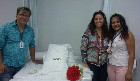 Alunas UNIT proporcionam dia de beleza em Casamento Comunitário