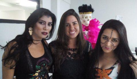 Halloween é tema de oficina em Estética e Cosmética