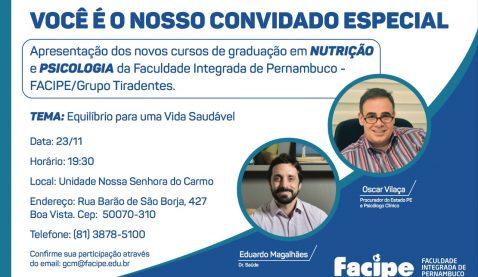 UNIT promove encontro sobre vida saudável