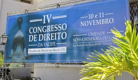IV Congresso de Direito da UNIT - 1º dia