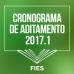 Cronograma de Aditamento do FIES 2017.1