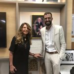 Tiradentes Institute recebe visita da cantora Elba Ramalho