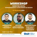 Marketing Digital, Empreendedorismo e Oportunidades de Negócios é o tema da Live que acontece hoje