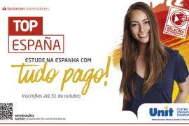 Aberto Edital para o Programa Top España Santander